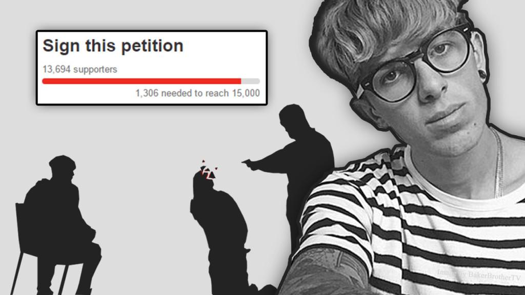 sam pepper petition murder prank jail